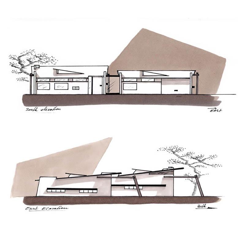 Except Architecture Zero Energy Desert House