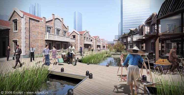Shanghai Sustainable Urban Master Plan :: Except Urban Design